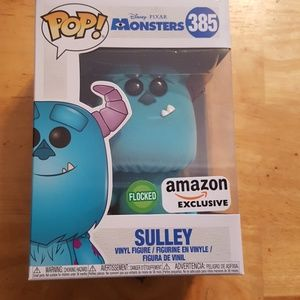 Monsters inc. Flocked Sulley Amazon exclusive